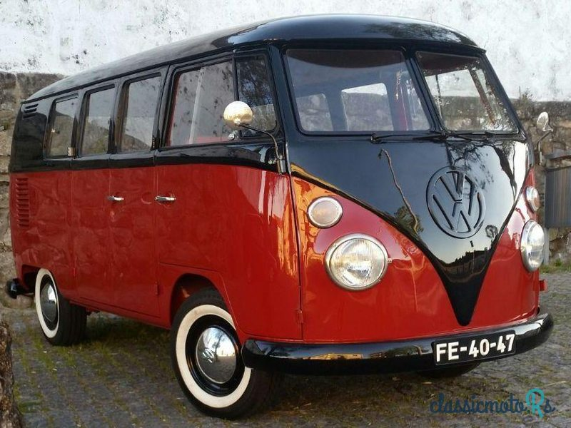 1965 Volkswagen Type-2 in Portugal