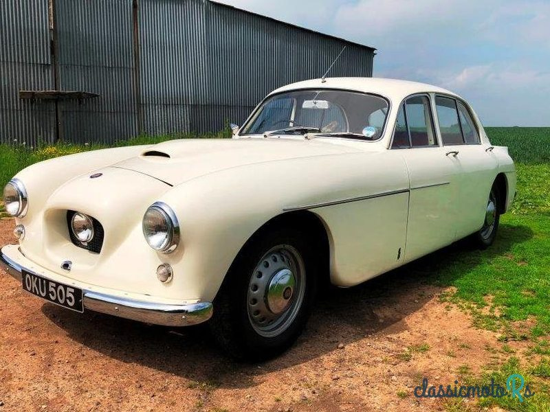 1957 Bristol 405 in Yorkshire, the World