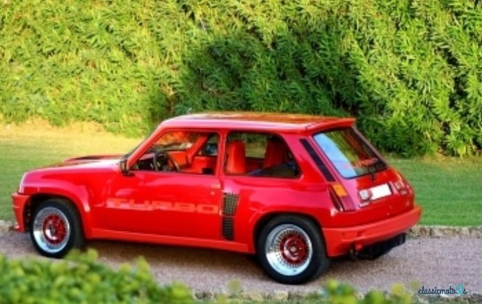 1981 Renault R5 TURBO in France - 2