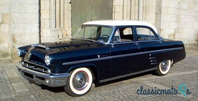 1953 Mercury Montrey in Portugal, Alle