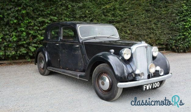 1949 Rover 100 P3 100 in Herefordshire, the World