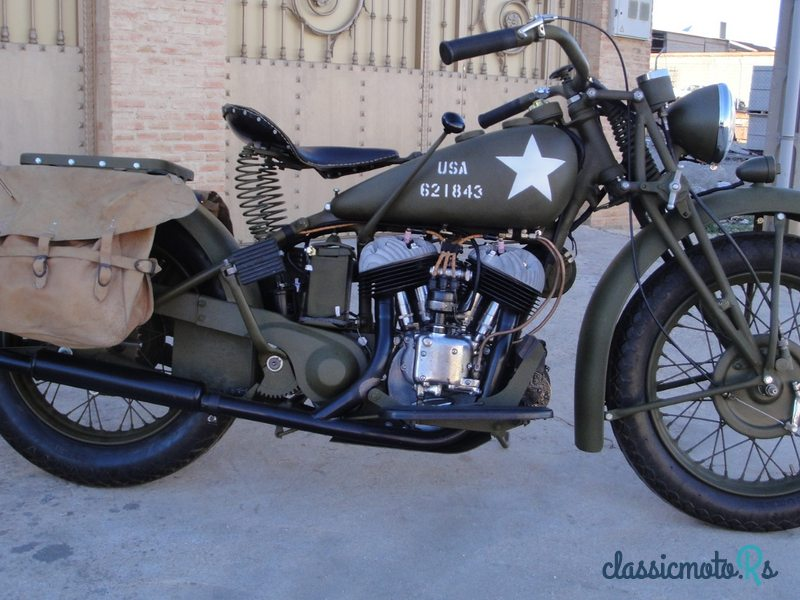 1941 Indian Scout 741 in Arizona, the World