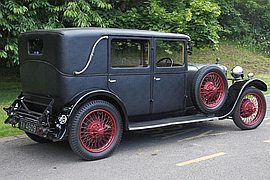 1928' Sunbeam 16Hp Weymann Saloon