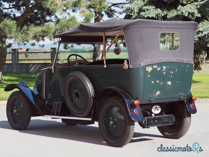1925 Renault 5 Nn Torpedo in Austria, the World