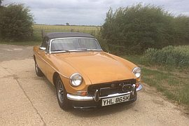 1971' MG Mgb Roadster