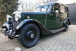 1935' Daimler 15 Saloon Db 15 Light