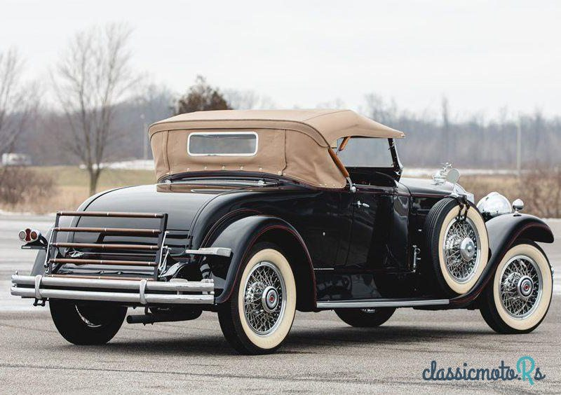 1930 Packard 740 Roadster in United States, the World