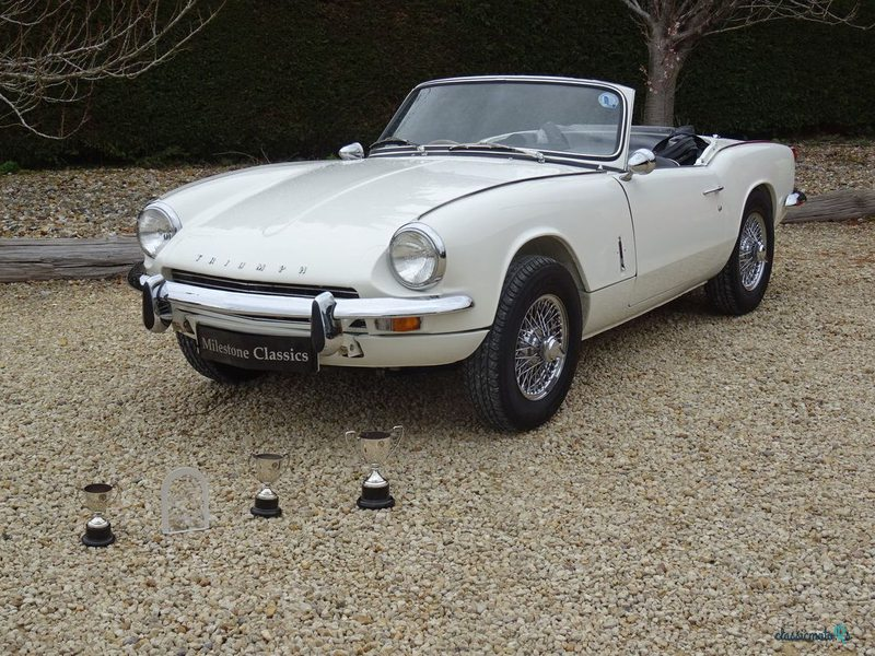 1968 Triumph Spitfire in Sussex - 2