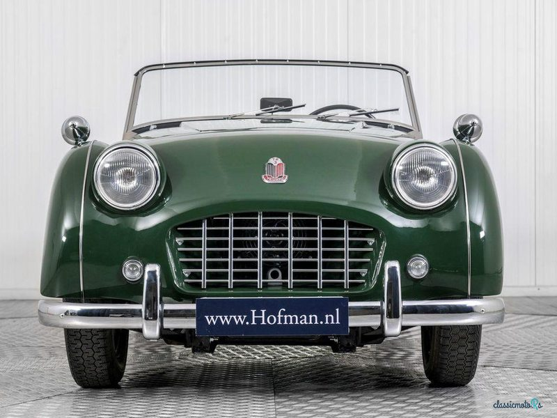 1957 Triumph TR3 in Netherlands - 3