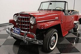 1950' Willys Jeepster