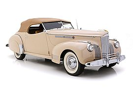 1941' Packard 180 Convertible Victoria By Da