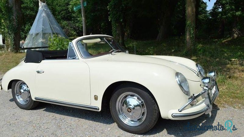 1959 Porsche 356 A Cabrio in Portugal, the World