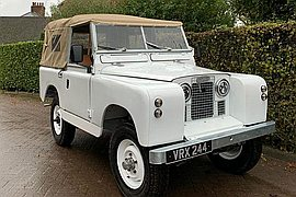 1960' Land Rover Series 2