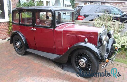 1934 Morris 10/4 in Kent, the World