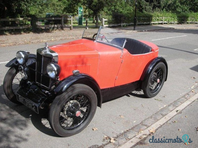 1930 MG M-Type in Middlesex