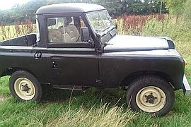 1968' Land Rover Series 2 Series Ii