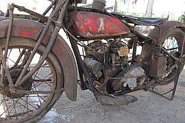 1928' Indian 101 unrestored