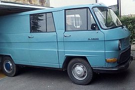 1977' Mercedes-Benz N1300 VAN