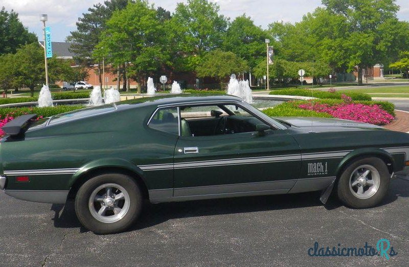 1972 Ford Mustang in Cleveland, the World