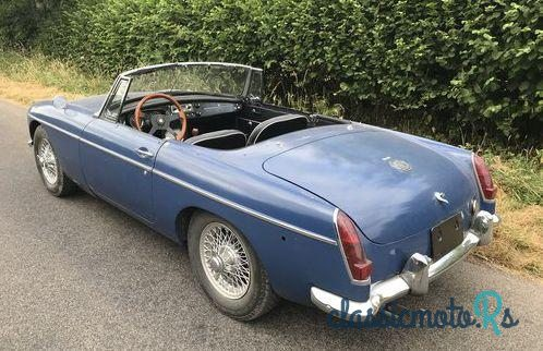 1967' MG Mgb Roadster Mgb for sale - £7,500  France, the World