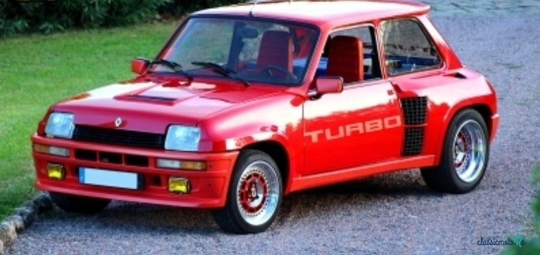 1981 Renault R5 TURBO in France