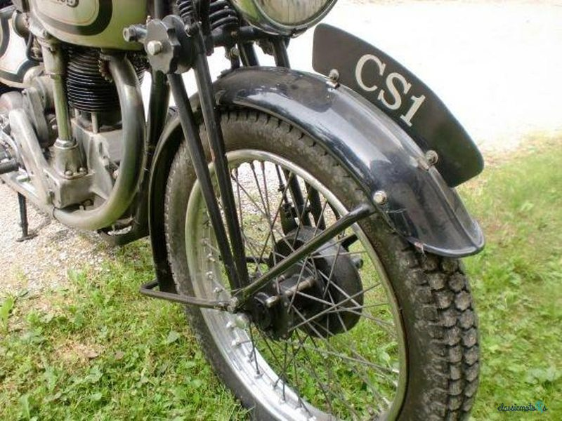 1938 Norton CS1 in Germany - 2