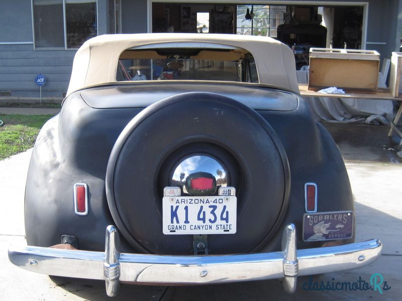 1941 Lincoln Continental in California, the World
