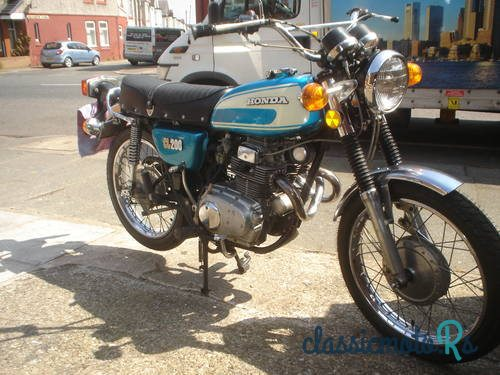 1974 Honda 200 in Merseyside, the World