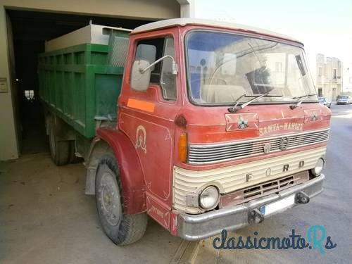 1970 Ford D1000 in Malta