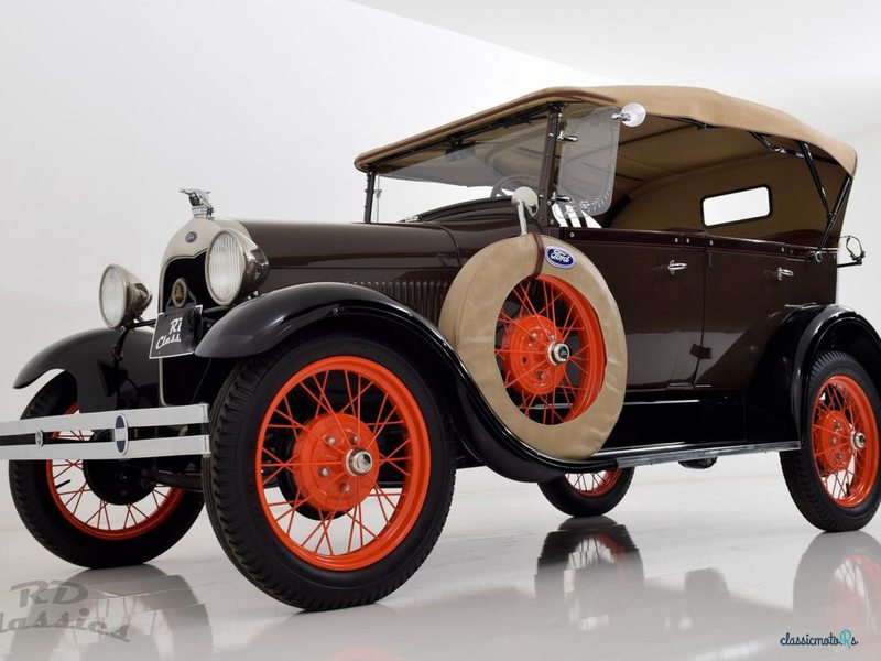 1928 Ford Model A in Germany