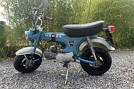 1972' Honda Monkey Bike