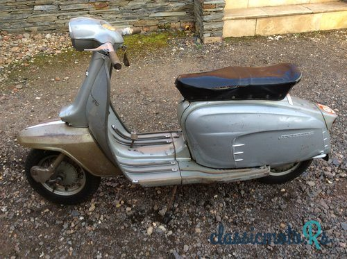 1964 Lambretta Silver Special in Leicestershire, the World