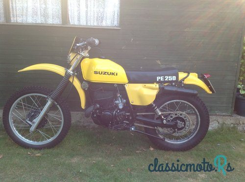 1979 Suzuki PE250N in Bedfordshire, the World