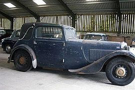 1933' AC Coupe
