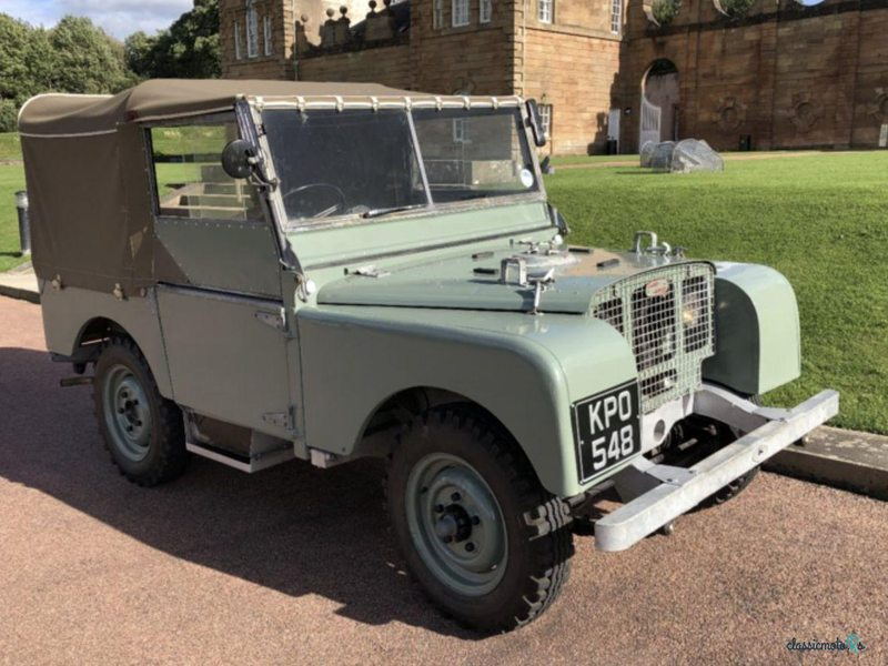 1948 Land Rover Series 1 in Scotland