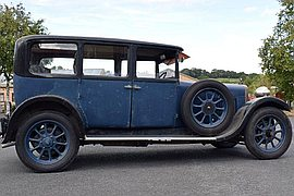 1928' Sunbeam 16.9 Saloon