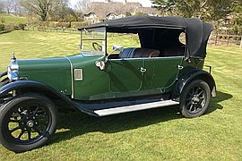 1924' Austin 12/4 Clifton Tourer
