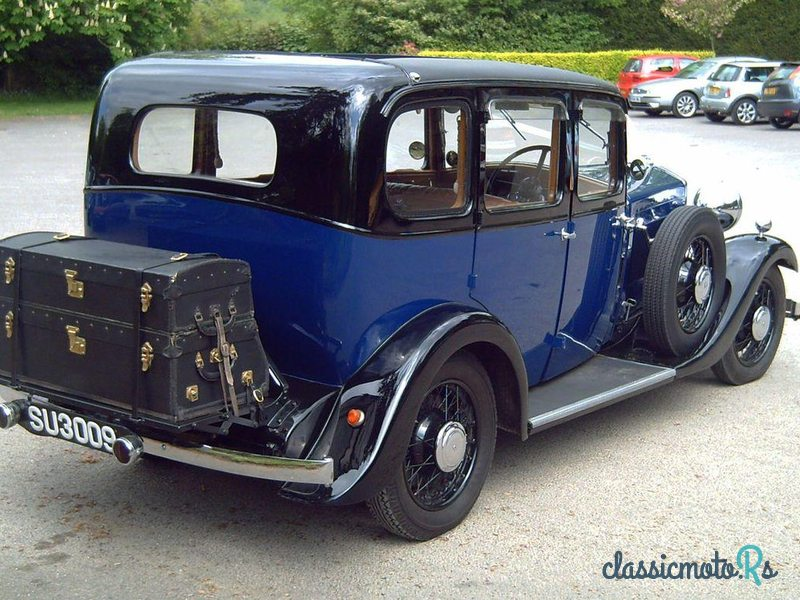1934 Wolseley 21/60 County Saloon in Sussex, the World