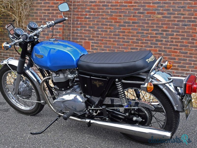 1973 Triumph in Sussex, the World