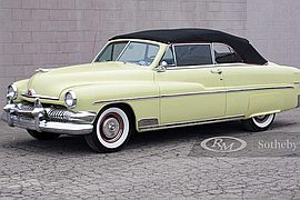1951' Mercury Eight Convertible