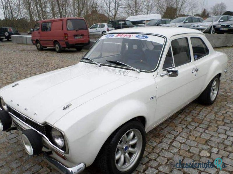 1973 Ford Escort in Portugal, the World